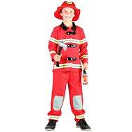 Šaty na karneval - Požárník vel. S - Dětský kostým