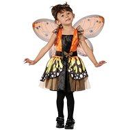 Karneval Kleid -. Schmetterlings-Fee-Größe XS - Kinderkostüm