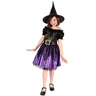 Šaty na karneval - Čarodějka vel. S - Dětský kostým