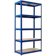 KOVONA FUTUR 1800 x 750 x 350 mm, modrá - regál