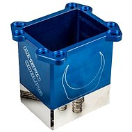 KINGPIN cooling Venom CPU Pot blau - Prozessor-Kühler