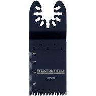 Kreator Messer Schneiden von Holz 34x40x2mm - Sägeblatt