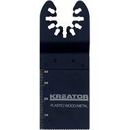 Kreator Schneidmesser für Holz / Plastik / Metall 34x40x1.4mm - Sägeblatt