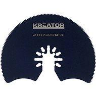 Kreator Segmentový řezný kotouč 87x1.4mm dřevo/plast/ocel - Segmentový pilový kotouč