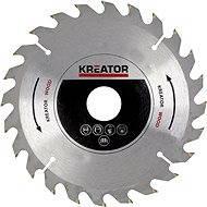 Kreator KRT021600, 165mm - Pilový kotouč na dřevo