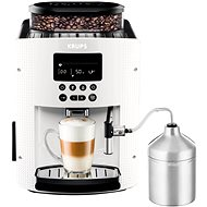 Krups XS6000 Pisa White + Cappuccino EA816170 - Automatic coffee machine