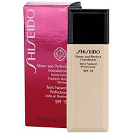 SHISEIDO Perfect and Sheer Foundation SPF15 30 ml I40 Natural Fair Ivory