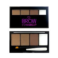 Makeup Revolution I Love Makeup Brow Kit Bold is Best - Dark