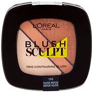 Loreal Blush Trio Sculpt Contouring Blush 102 Nude Beige