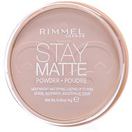 RIMMEL LONDON Stay Matte 14 g - Hue: 001 Transparent - Compact Powder