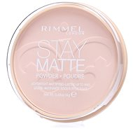 RIMMEL LONDON Stay Matte 14 g - Odtieň: 003 Peach Glow - Kompaktný púder