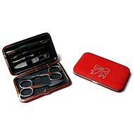 Premium Line manicure set with Swarovski crystals PL 125 Red