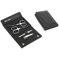 Premium Line manicure set men's PL 198Cr Black