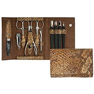 Premium Line manicure set large PL 252 Light Brown