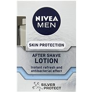NIVEA Men After Shave Lotion Silver Protect 100 ml - Voda po holení