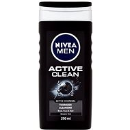 NIVEA Men Active Clean 250 ml - Pánský sprchový gel
