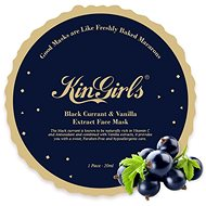KinGirls Noční maska z černého rybízu a vanilky, na všechny typy pokožek, 20 ml