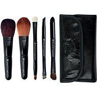 ROYAL & LANGNICKEL Brush Essentials™ Travel Kit 5 pcs Black - Sada kosmetických štětců