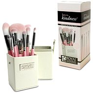 ROYAL & LANGNICKEL Love is ...Kindness™ Travel Brush Kit 8 pcs Pink