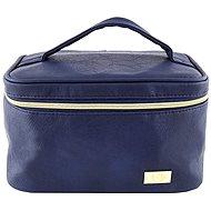 ELITE MODELS Kozmetická taštička kufrík Modro-zlatá