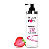 SEZMAR LOVE Massage Oil Strawberry 100 ml - Masážní olej