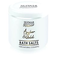 SEZMAR PROFESSIONAL Bath Salts Amber and Gold 500 g - Koupelová sůl