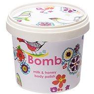 BOMB COSMETICS Tělový peeling Mléko a med 375 g - Tělový peeling