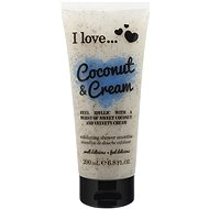 I LOVE… Exfoliating Shower Smoothie Coconut & Cream 200 ml - Dusche schrubben