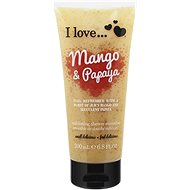 I LOVE… Exfoliating Shower Smoothie Mango & Papaya Exfoliating 200 ml - Dusche schrubben