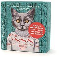 SOMERSET TOILETRY Luxusní vánoční mýdlo Kočka Bernie 150 g - Mýdlo