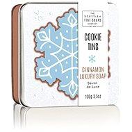 SCOTTISH FINE SOAPS Vánoční mýdlo v plechu Skořice 100 g - Mýdlo