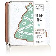 SCOTTISH FINE SOAPS Vánoční mýdlo v plechu Borovice 100 g - Mýdlo