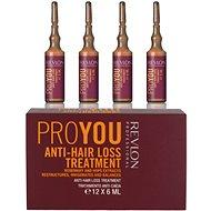 REVLON Pro You Anti-Hair Loss Treatment 12 x 6 ml - Vlasová kúra