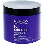 REVLON Be Fabulous Fine Cream Lightweight Mask 500ml - Hair Mask