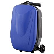 Luggage on the wheels BLUE