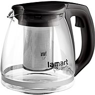 Lamart 1.1 liters Kettle Black Verre LT7025