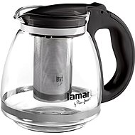 Lamart 1.5 liters Kettle Black Verre LT7027