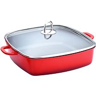 Lamart LT1066 ceramic roasting pan with lid 28x28cm