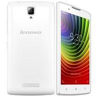 Lenovo A2010 LTE Pearl White Dual SIM - Mobilní telefon