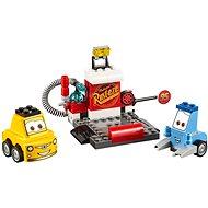 LEGO Juniors 10732 Zastávka v boxech Guida a Luigiho - Stavebnice