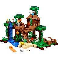 LEGO Minecraft 21125 Dům na stromě v džungli - Stavebnice
