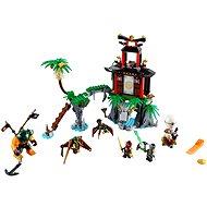 LEGO Ninjago 70604 Schwarze Witwen-Insel