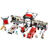 LEGO Speed ??Champions 75,876 Porsche 919 Hybrid and 917K lane in the pits