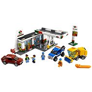 LEGO City 60132 Sopečtí explorers, gas station