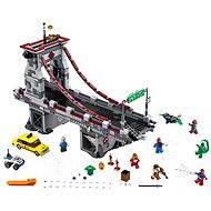 LEGO Super Heroes 76057 Spiderman: Úžasný souboj pavoučích válečníků na mostě - Stavebnice