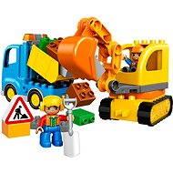 LEGO DUPLO 10812 Pásový bagr a náklaďák - Stavebnice