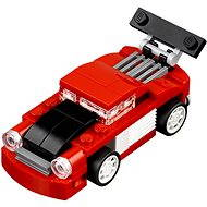 LEGO Red racing car