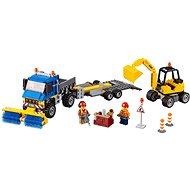 LEGO City 60152 Zametací vůz a bagr - Stavebnice