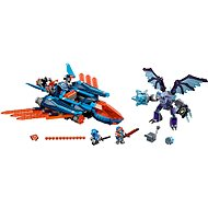 LEGO Clay Fighter aircraft Falcon Blaster