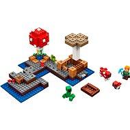 LEGO Minecraft 21129 Ostrov húb - Stavebnica